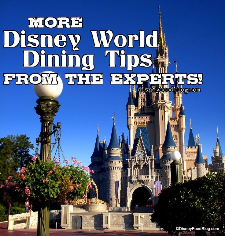 #DisneyWorld Dining Tips from the Experts! Find out what you need to know before you go! #Disney #Food