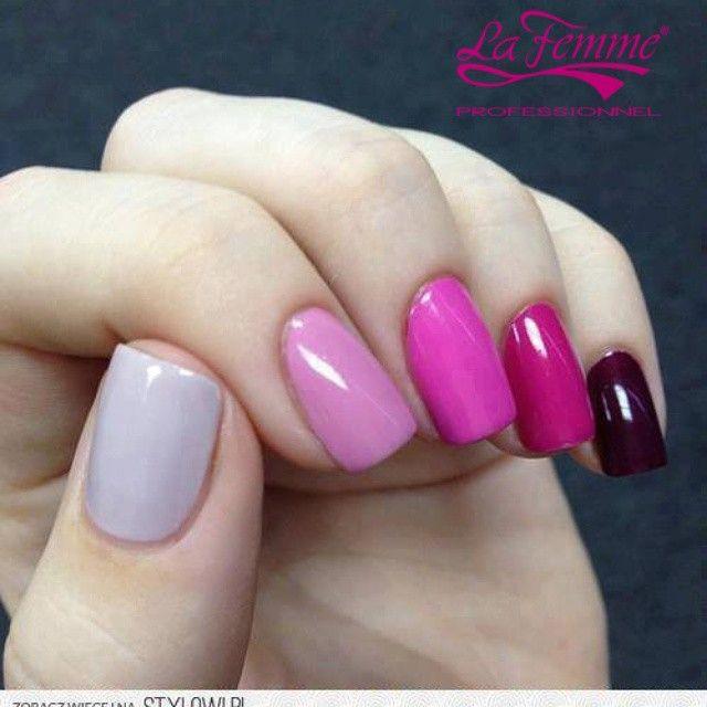 #OneStep #SmaltoIbrido #LaFemmeProfessionnel #Manicure #colori #nail #Unghie #NailLook #Follow#Pink #PerfectManicure #mani #GlamManicure #Ragazza #girl #Moda #Trendy #Beauty #BeautifuL #Multicolor #instaNails #Lovely