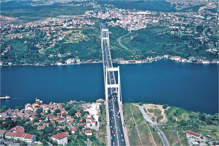 Little part of magnificent Bosphorus