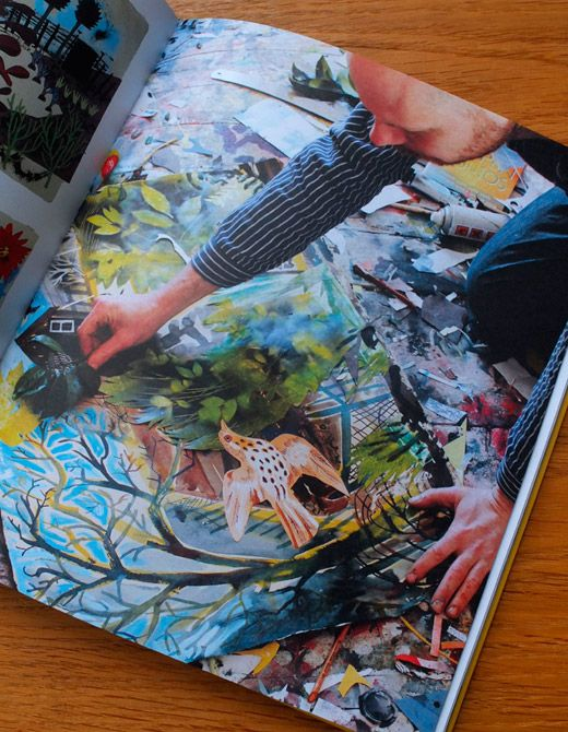 Mark Hearld Work Book -gorgeous and inspiring book showing the artist's processes.