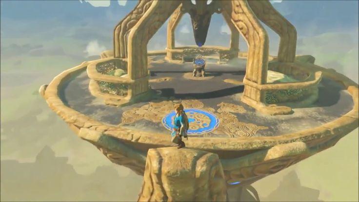 The Legend of Zelda Breath of the Wild Gameplay Trailer