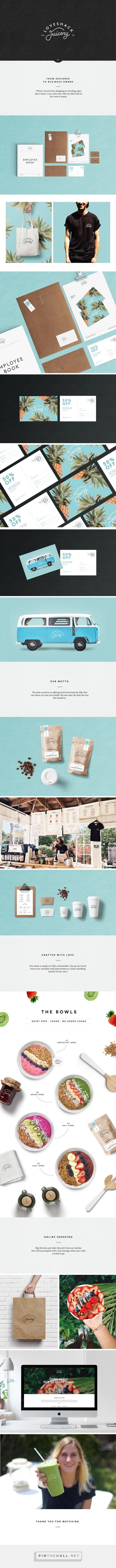Loveshack Juicery Branding by Cecile Godin | Fivestar Branding Agency – Design and Branding Agency & Curated Inspiration Gallery