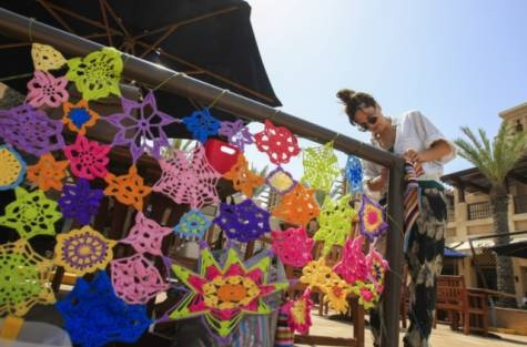 A spectacle at Urban Knitting festival in Dubai | GulfNews.com