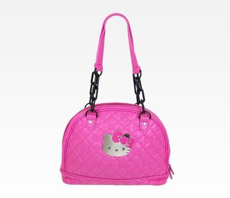 Hello Kitty Handbag: Hot Pink Quilt