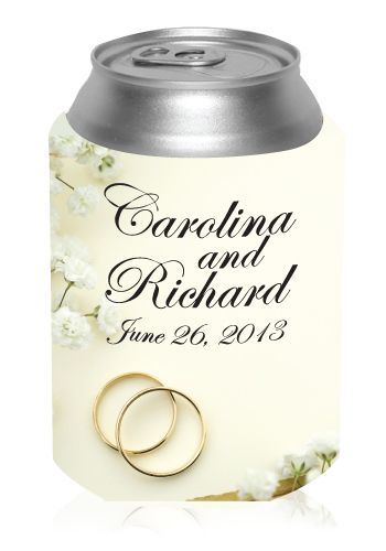 27 Best Images About Custom Wedding Koozies Wedding Favors Koozies On P
