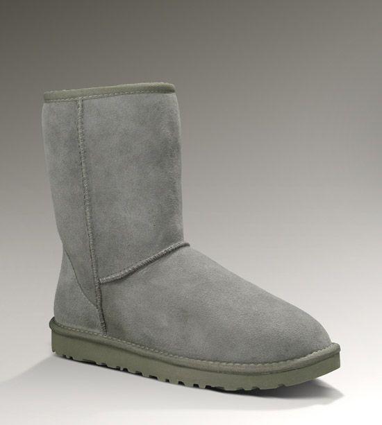 Ugg Australia Grey Classic Short Boot
