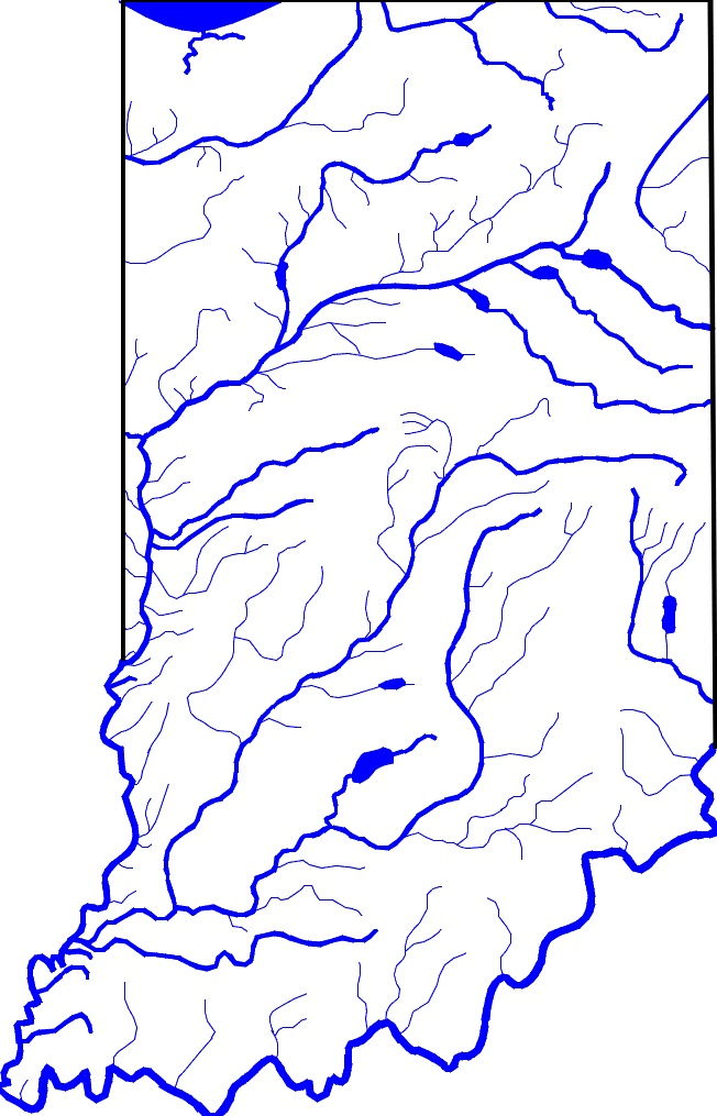 Best River Maps Images On Pinterest Maps Arkansas And Canoeing - Indiana rivers map