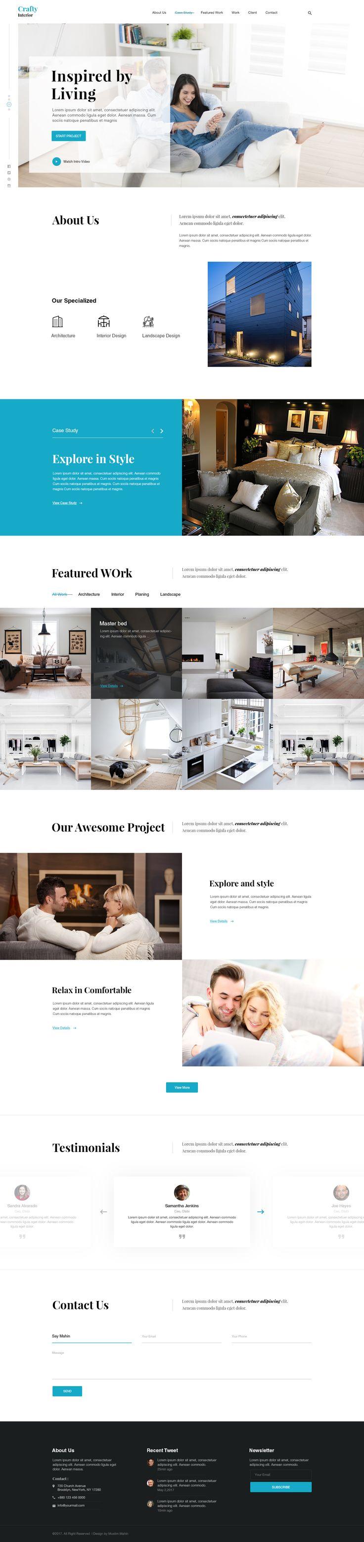 343 best Web Design images on Pinterest   Website designs, Design ...