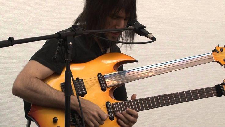 Guns N' Roses guitarist Ron Thal aka Bumblefoot: clinic at Copenhagen Gu...