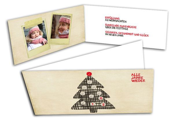 Weihnachtskarten+-+Alle+Jahre+wieder