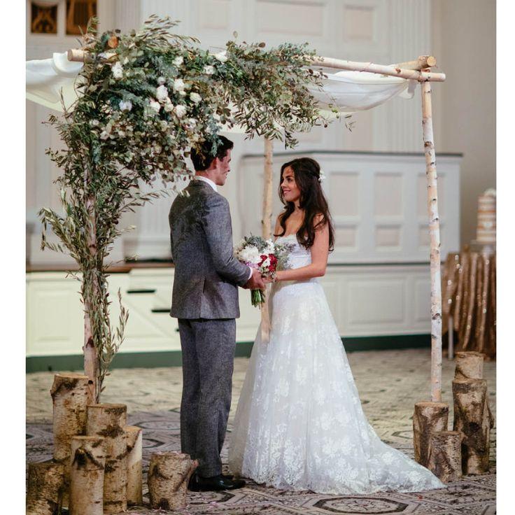 Greek Wedding Altar: Best 25+ Birch Chuppah Ideas On Pinterest