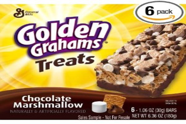 Small Kitchen College » Look Ma No Oven! Golden Graham Bars