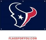 Texans Fan Banner 2ft x 3ft