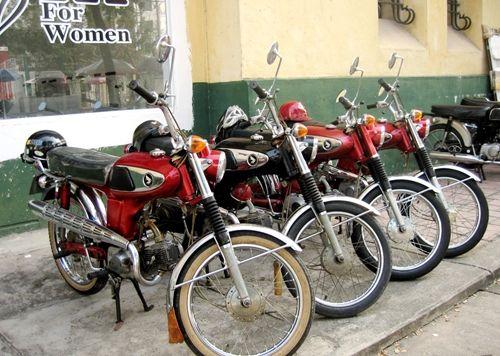 Bộ sưu tập Honda 67 hàng hiếm ở Sài Gòn