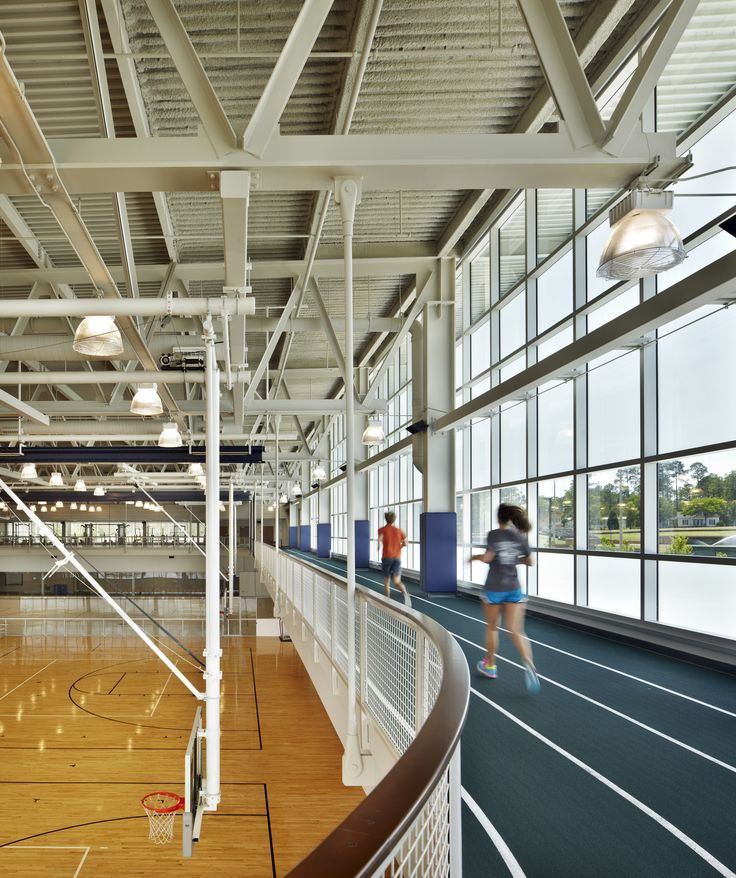 gymnasium with indoor track roof structure - Google Search