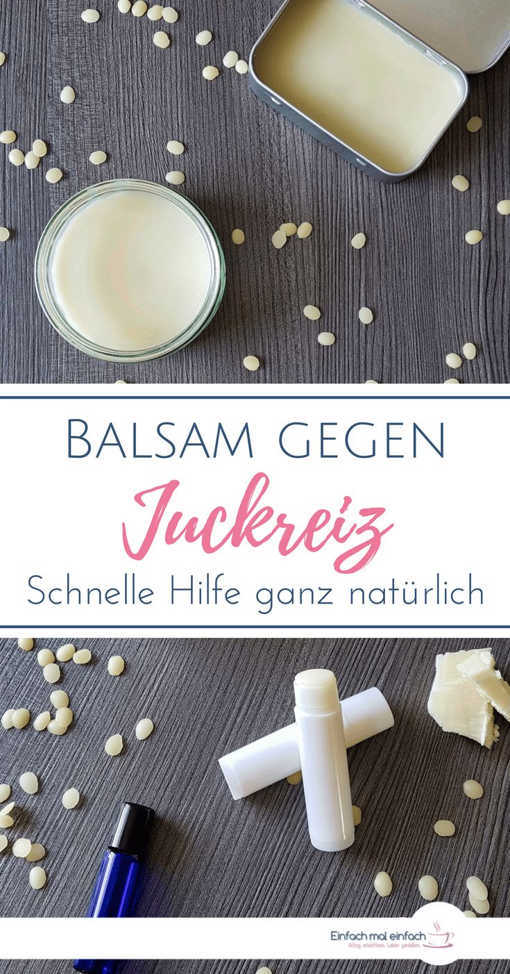 DIY Balsam gegen Juckreiz – Einfach mal einfach