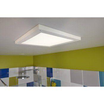 Panneau LED Gdansk, LED 1 x 18 W, LED intégrée blanc froid   Leroy Merlin