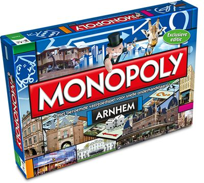 Arnhem heeft zijn eigen Monopoly.