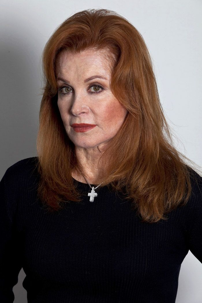 Stephanie Powers 70 and still beautiful after a battle with cancer.