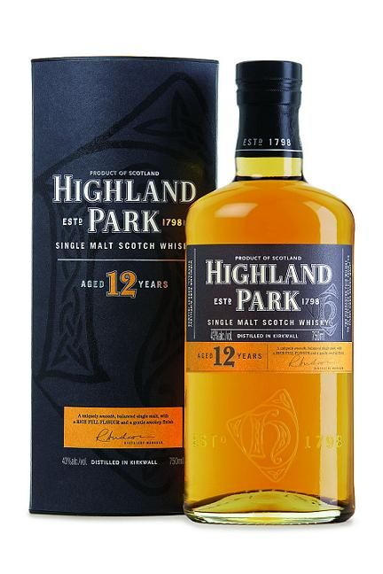 Highland Park 12 Year Old.