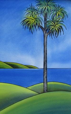 Coastal View by Raewyn Harris