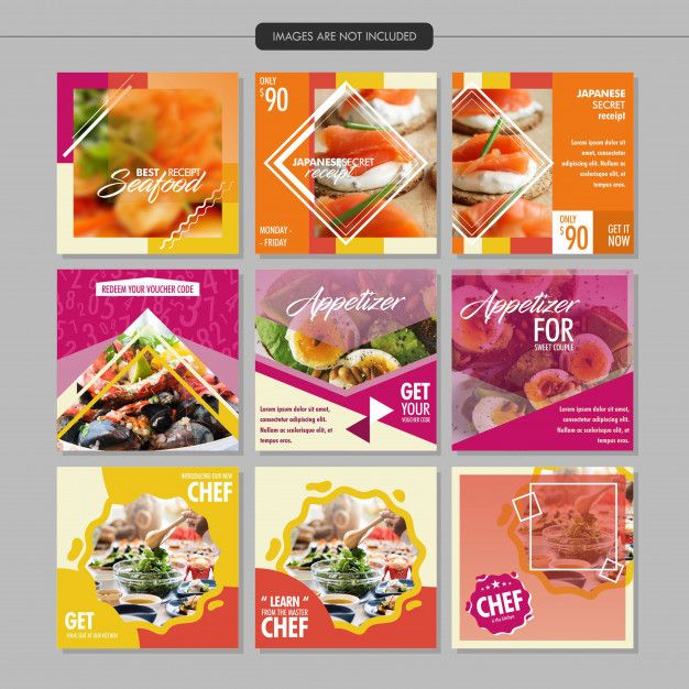 Freepik Graphic Resources For Everyone Restaurant Social Media Social Media Design Food Web Design