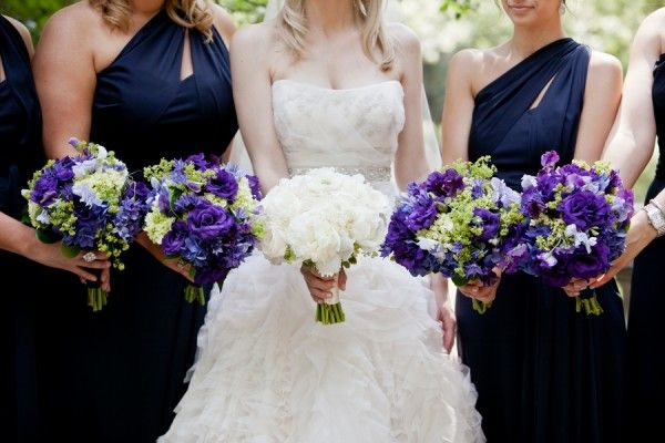 Best 97 Wedding Purple Blue Images On Pinterest Weddings