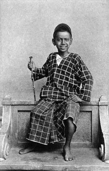 A Malay boy