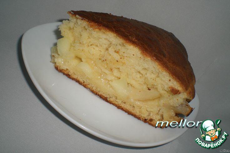 Сочный яблочный пирог на манной каше ингредиенты