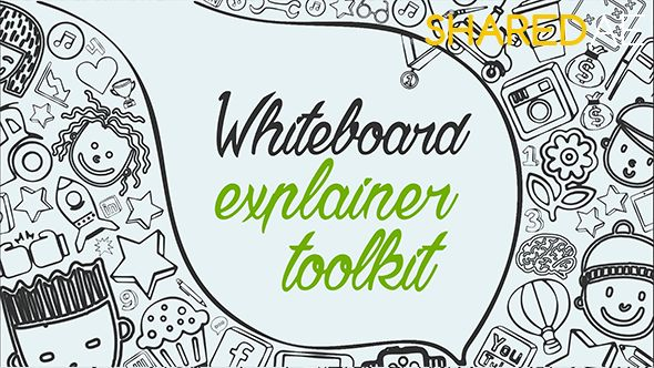 Videohive - Whiteboard Explainer Toolkit 18587926 - Free Download