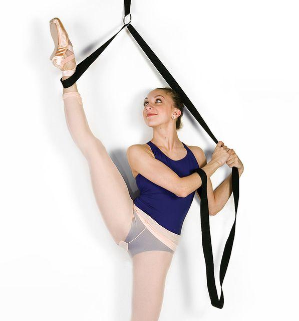 Práctica de La Danza de la muchacha Herramientas Accesorios Mujeres Danza Ballet Ballet Del Vientre Banda Streching Herramientas Salón