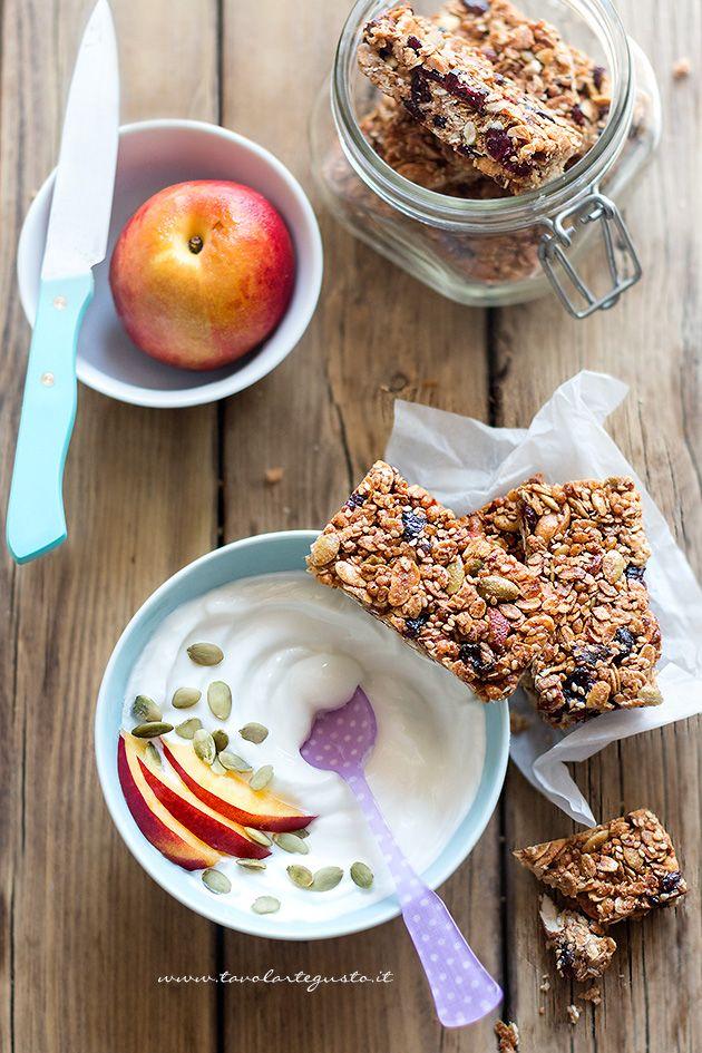 Barrette ai cereali: la ricetta perfetta senza burro e senza olio - TavolaArteGusto