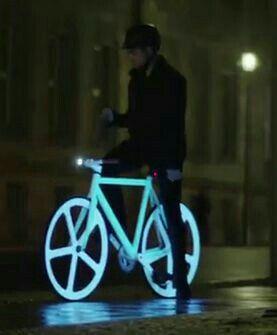 Bike iluminada