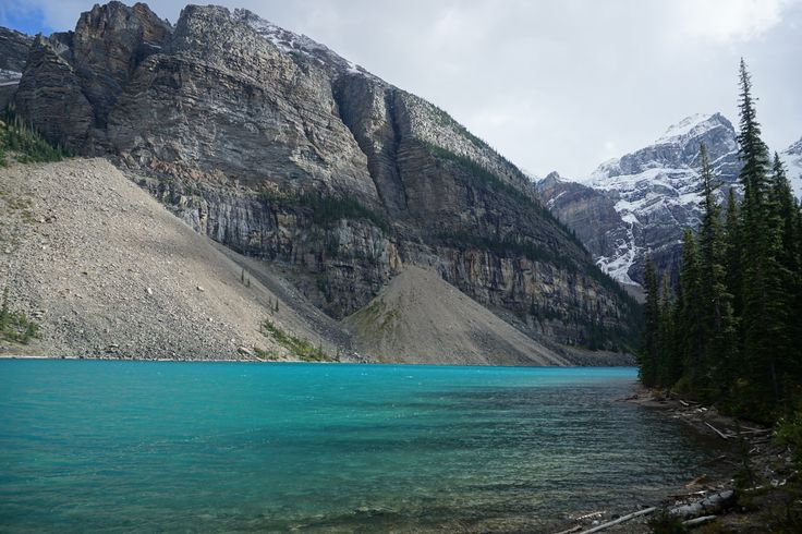 Turquoise waters of Moraine Lake
