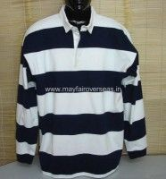 auto stripe rugby shirt