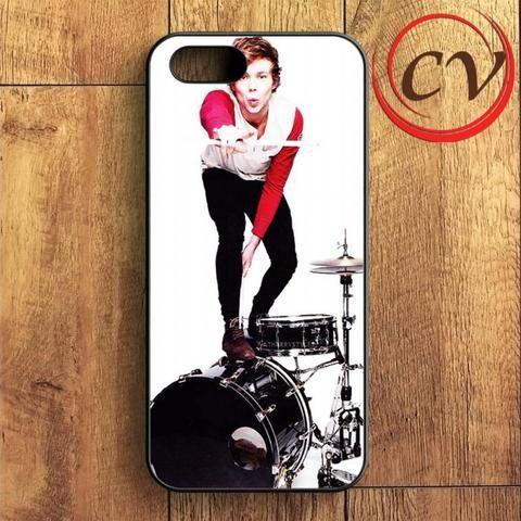 Aston Irwin On Drums iPhone SE Case