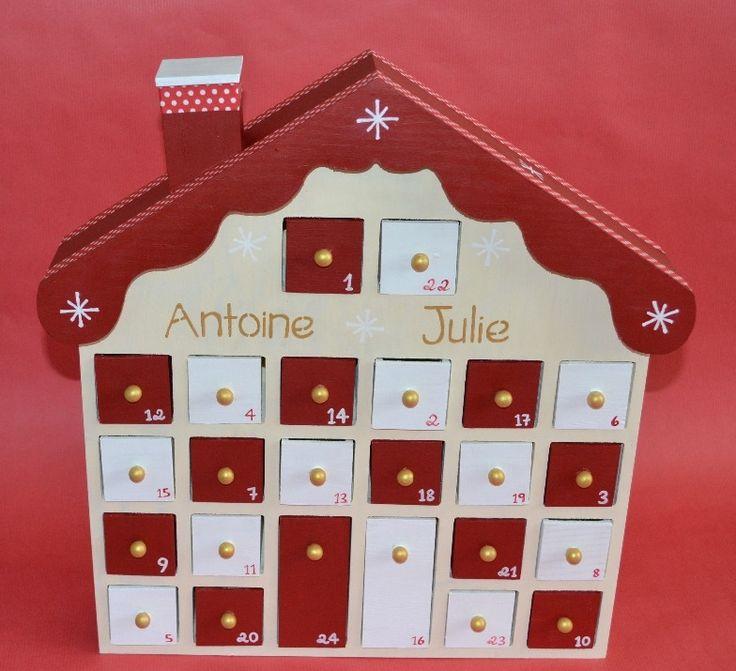 29 best no l calendrier de l 39 avent images on pinterest advent calendar christmas ideas and. Black Bedroom Furniture Sets. Home Design Ideas