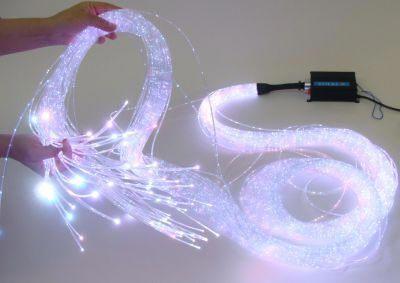 Lichtleiter, Lichtwellenleiter Beleuchtung, Glasfaserkabel