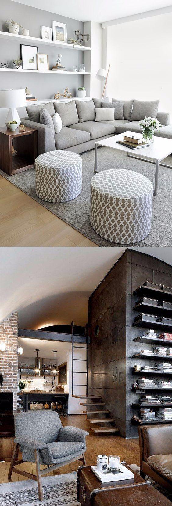 10 apartamentos modernos para inspirarte / http://bellamumma.com/