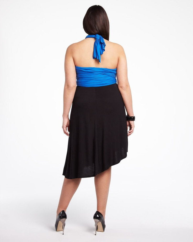 two-tone versatile dress  #AdditionElle $69.99