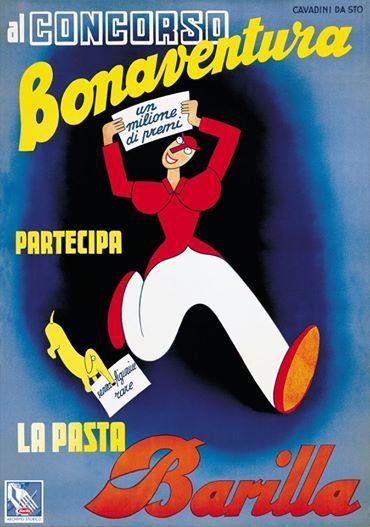Nel 1937 il Signor Bonaventura è stato protagonista di un concorso per #Barilla!
