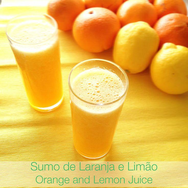 Néctar de Laranja e Limão | Orange and Lemon Nectar