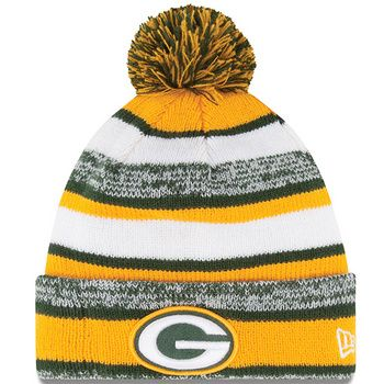 A favorite of fans and players alike. Cuffed acrylic knit hat with heathered and solid stripes has fleece lining for warmth and embroidered logo.