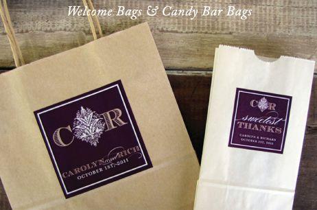 Wedding welcome bag and a sweet treat I Custom by Nico and Lala