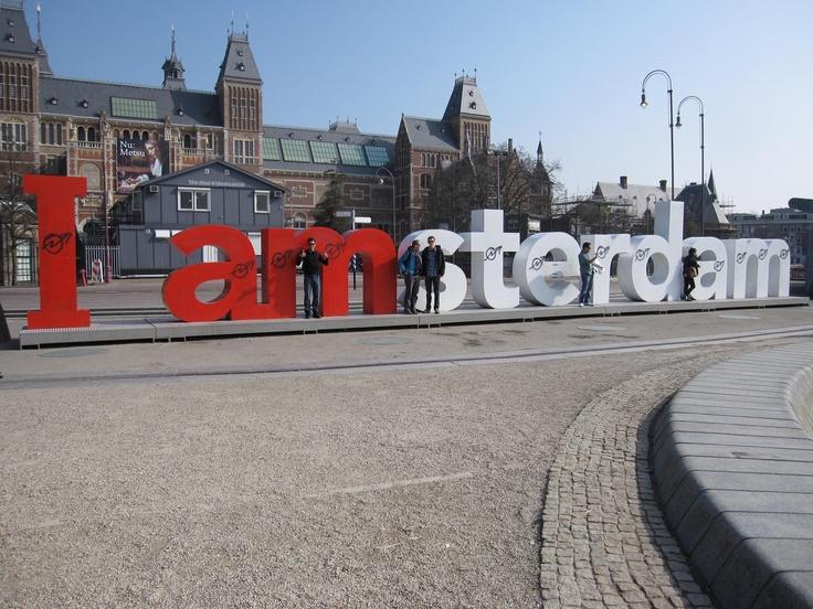 I <3 Amsterdam! Stedentrip Amsterdam een aanrader.