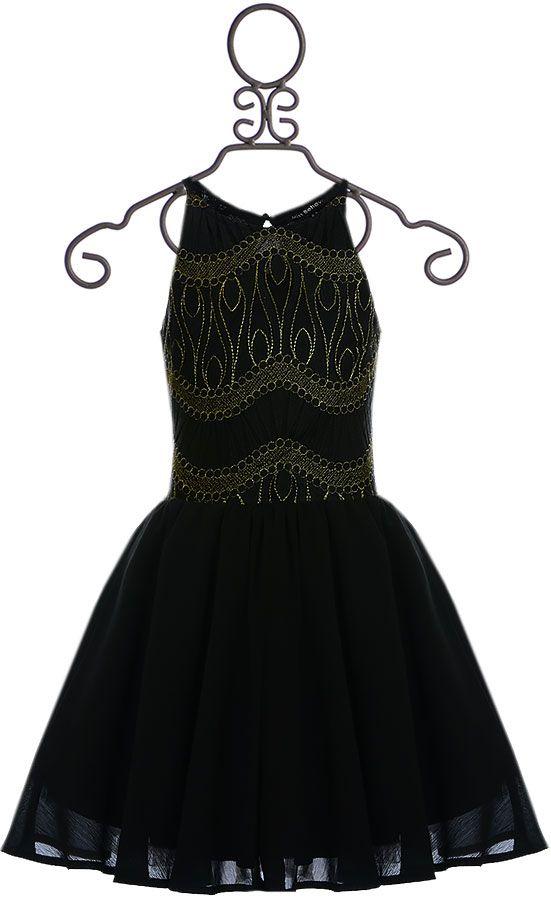 Tween Party Dress in Black (8121416)