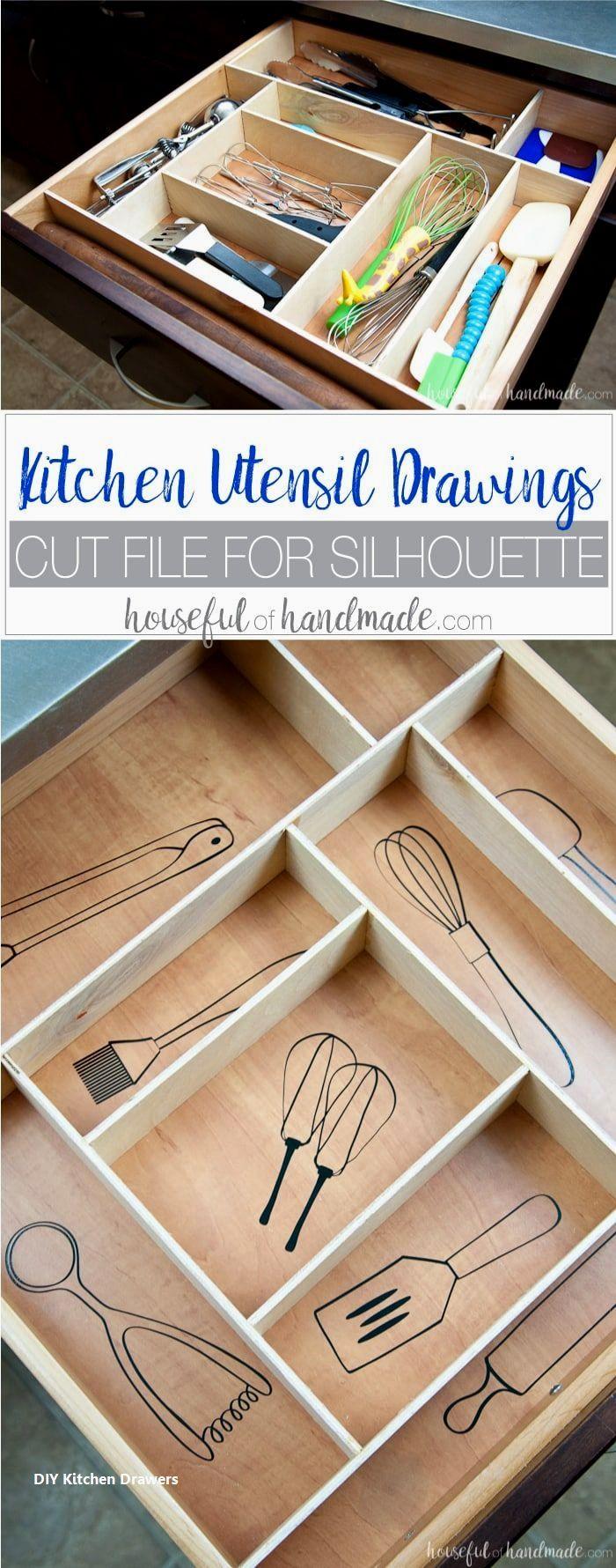 kitchendrawer   Kitchen drawers, Kitchen drawer organization, Diy ...
