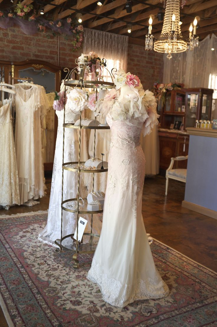 Claire Pettibone Flagship Salon #bridal - Photo: Michael Barr