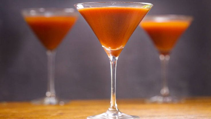 Bloody Vodka Martini. This spicy martini could make you forget all about bloody marys.