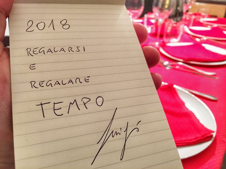 Appunti per l'anno che arriva
